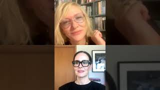 Cate Blanchett And Sarah Paulson Live Instagram Stream May 19th 2020