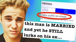 Justin Bieber Accidentally Leaks Search History, Fans Expose Him on Twitter