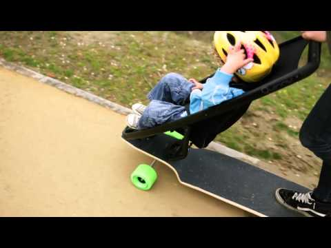 This Longboard Stroller Might Help You Fend Off Parental Lameness