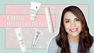 K-Beauty Moisturizers for Fall | Transitional Skincare
