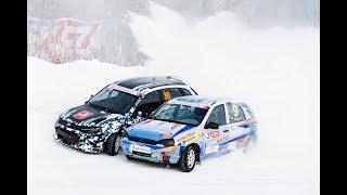 1 этап Чемпионата Удмуртии по зимним трековым автогонкам класс национальный 5,01,2019 Ижевск