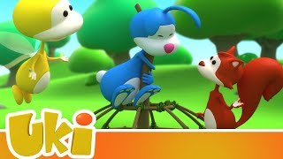 Uki 🤝 Friends to the Rescue!   Videos for Kids