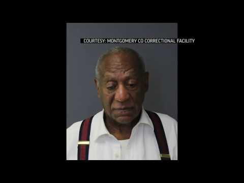 Comedian Bill Cosby arrived at prison in handcuffs after a judge senenced him to three to 10 years in state prison for 2004 sexual assault. (Sept. 25)