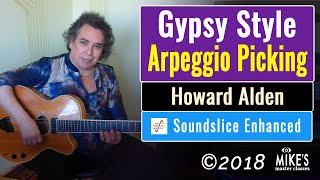 Gypsy Style Arpeggio Picking | By Howard Alden