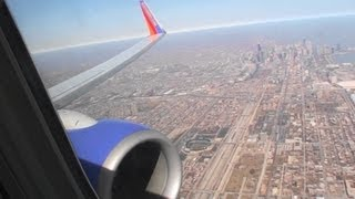 Beautiful Winter HD 737 Departure from Chicago Midway!!!
