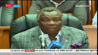 COTU Sec Gen Francis Atwoli demands peace and use of less brutal force by security officers