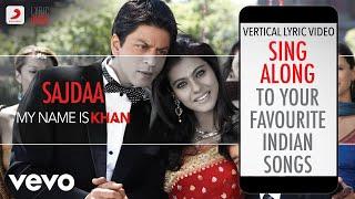 Sajdaa - My Name is Khan|Official Bollywood Lyrics|Shankar