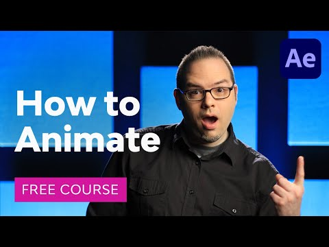 How to Animate in After Effects | FREE COURSE - YouTube