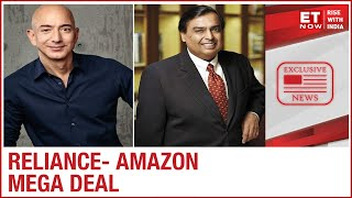 Jeff Bezos & Mukesh Ambani in talks for Mega deal, Amazon to be investor for 9.9% stake | Exclusive - Download this Video in MP3, M4A, WEBM, MP4, 3GP
