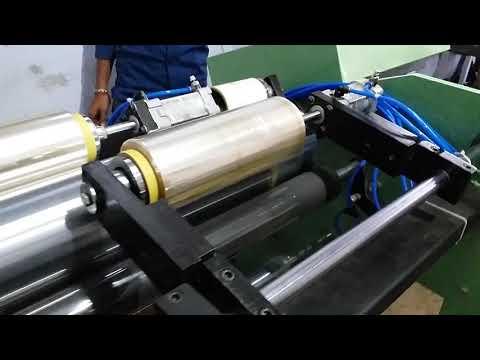 Film Rewinder Slitter Machine