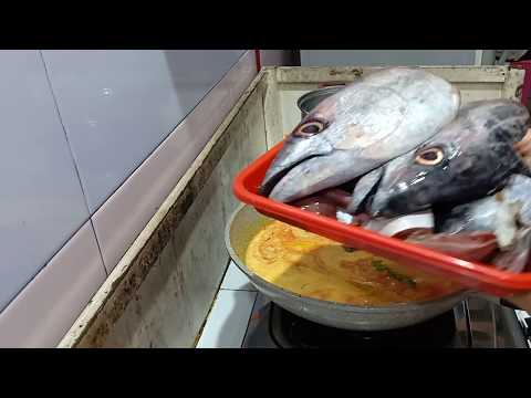 Resep gulai kepala ikan tuna
