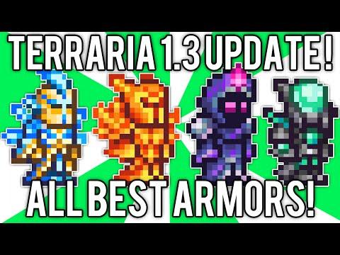 Terraria 1 3 All Best Armor Nebula Solar Flare Vortex