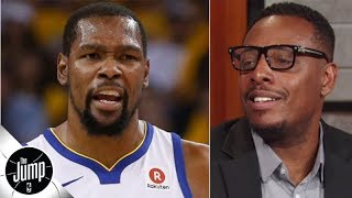 Paul Pierce doesn't understand what's going on with Kevin Durant | The Jump