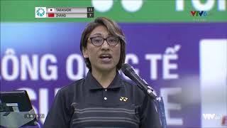 Vietnam Open 2019 WS-F: Asuka Takahashi (JPN) vs Zhang Yiman (CHN)