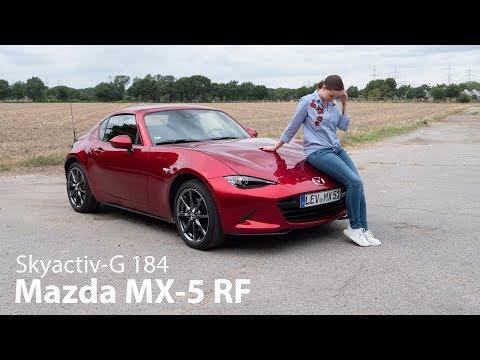 2019 Mazda MX-5 RF Skyactiv-G 184 Fahrbericht / Sportwagen für Kenner - Autophorie