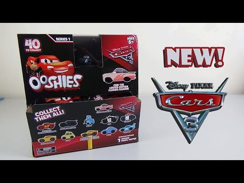 Disney Pixar Cars 3 Ooshies Blind Bag Opening - Full Set & Limited Edition Found!  | Birdpoo Reviews