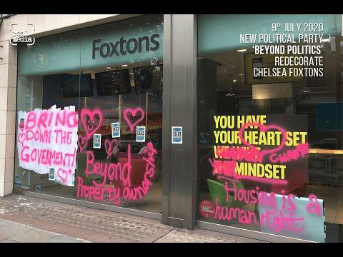 'Beyond Politics' target Foxtons to highlight housing issues