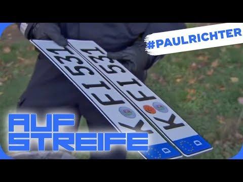 Auto ohne Nummernschilder! Unfallwagen gestohlen gemeldet | #PaulRichterTag | Auf Streife | SAT.1