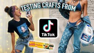 I Tested VIRAL TikTok DIY Crafts And Fashion Hacks!