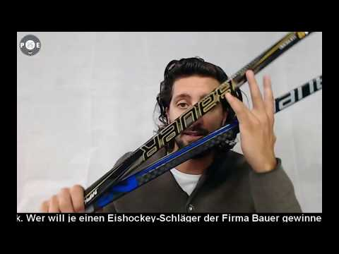 PE25 - Bauer Eishockey-Schläger Gewinnspiel