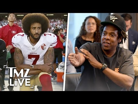 Jay-Z Blasted For Partnership With NFL | TMZ Live