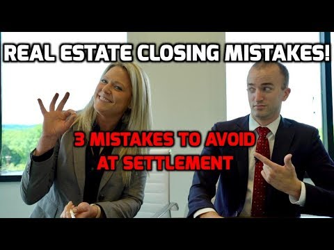 Closing Day When Buying a House | 3 MISTAKES to Avoid When Closing on a Home