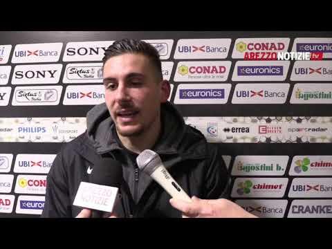 Arezzo-Pergolettese 3-0, intervista a Marco Pissardo