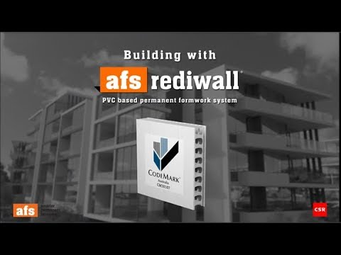 Building with AFS Rediwall® overview