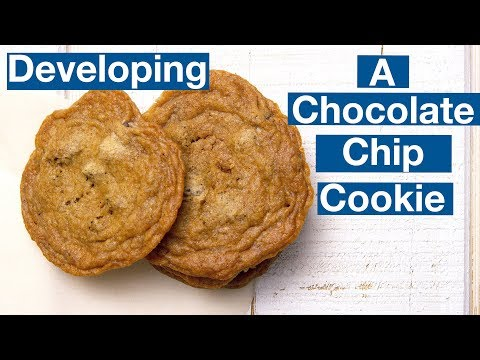Building A Chocolate Chip Cookie Recipe || Glen & Friends Cooking