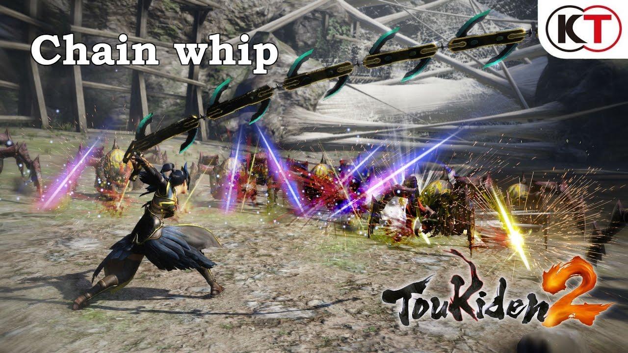 Toukiden 2 - Trailer per il set Chain Whip