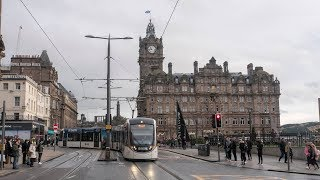 Edinburgh Trams live