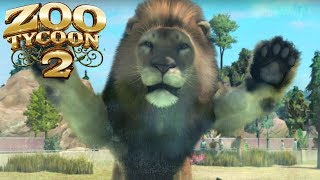 This Zoo Tycoon Makes Animals Fight Each Other - Gameplay (w/Autumn)