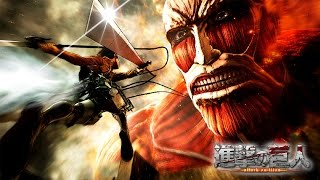 Attack On Titan Wings Of Freedom Movie All Cutscenes 2016