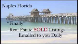 Naples Florida Sold Home Listings, What is your home Worth?