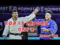 Top 15 ippons in day 2 of Judo Grand Prix Hohhot 2019