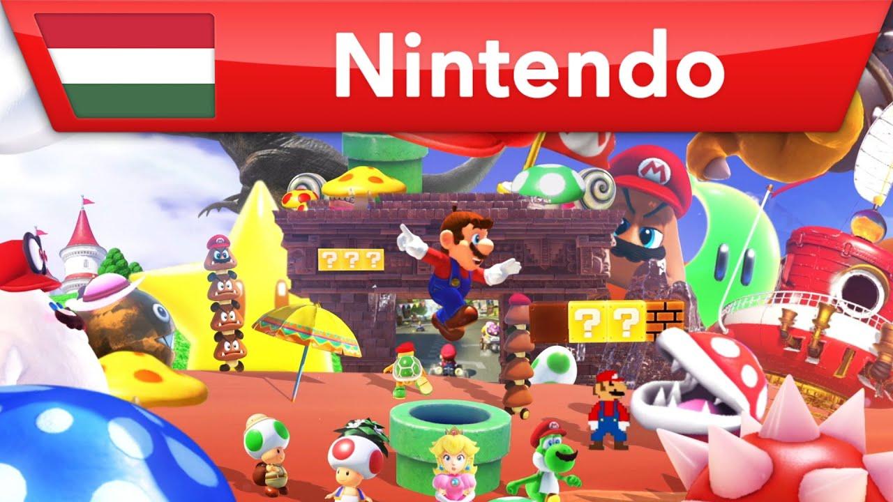 Élvezd a klasszikus és vadonat új Mario élményeket!