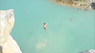 Watch: Summer Fun Takes Dangerous Leap
