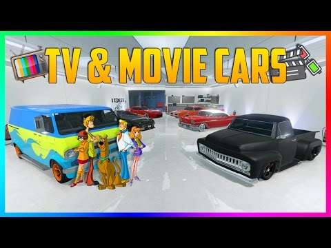 BEST MOVIE/TV CARS YOU CAN BUY IN GTA ONLINE - TOP 10 GTA ONLINE VEHICLES IN MOVIES & TV SHOWS!