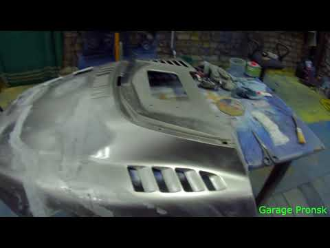 Ремонт капота снегохода Yamaha Viking часть 1