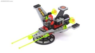 LEGO UFO series V-Wing Fighter from 1997! set 6836 review