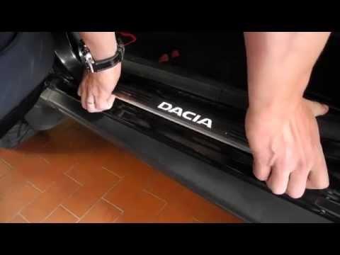 Dacia Edelstahl Einstiegsleisten Beleuchtet und wie man sie montiert