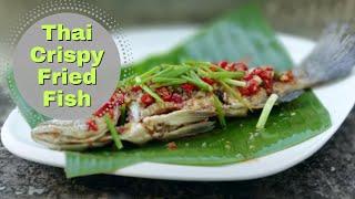 Thai Food Crispy Fish with Chilli Sauce, Recipe ❤️️