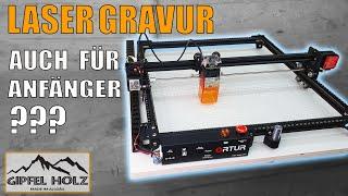 Ortur Laser Master 2 Pro - Gravur Laser auch für Anfänger? OLM2 Pro - Aufbau - Erste Schritte - Test