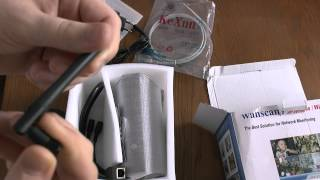 Wanscam wireless ip camera unboxing video- Ip camera kicsomagolás