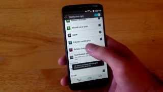 LG G2 - How to turn notification light on/off