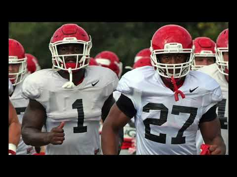 e823cef24 Nick Chubb and Sony Michel - Thunder and Lightning Video ...