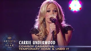 Carrie Underwood Performs 'Cowboy Casanova', 'Temporary Home' & 'Undo It'