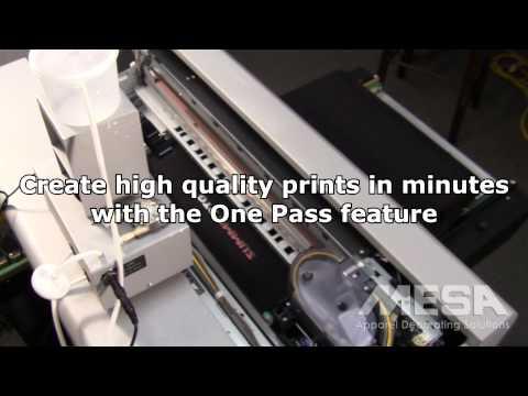 Summit DTG Direct To Garment Printer - смотреть онлайн на