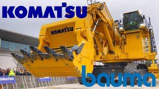 Full Komatsu Show Bauma 2019