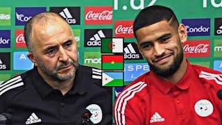 Djamel Belmadi déplore l'état catastrophique de la pelouse du stade de Blida